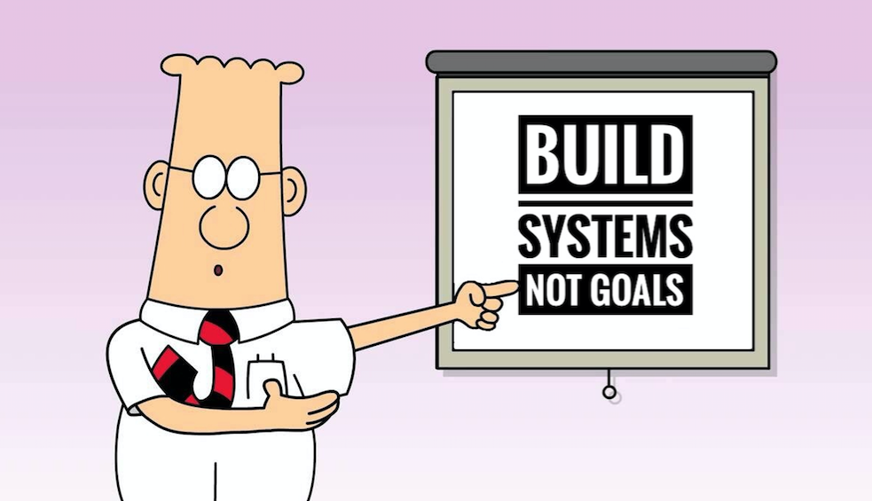 Systems VS Goals Mindset Shift